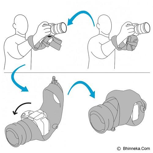 MIGGO Camera Grip and Wrap for CSC [GW-CSC ZN 30] - Zebranation - Camera Strap